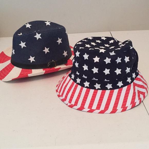 Set of 2 patriotic hats